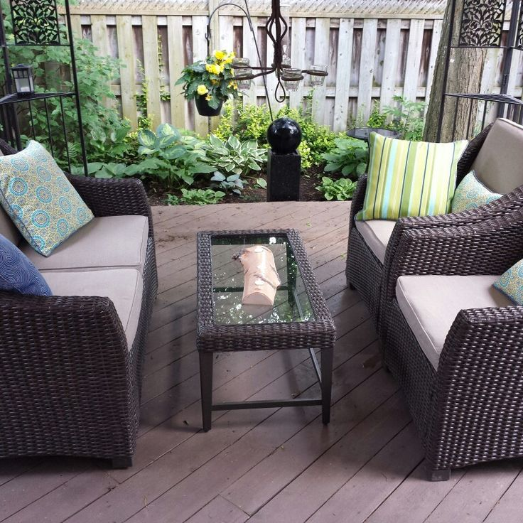My new outdoor cushions