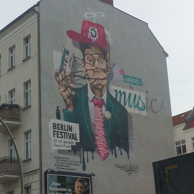 15 best Urban Art-vertising Berlin images on Pinterest | Street art ...