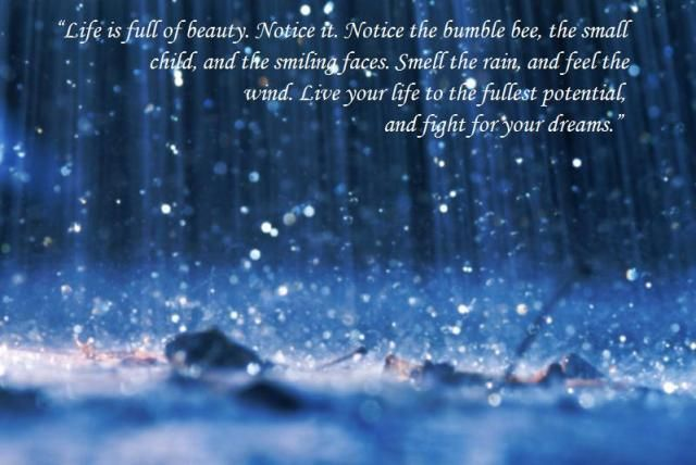 Beautiful Quotes On Life Tumblr Google Search Quotes Rain