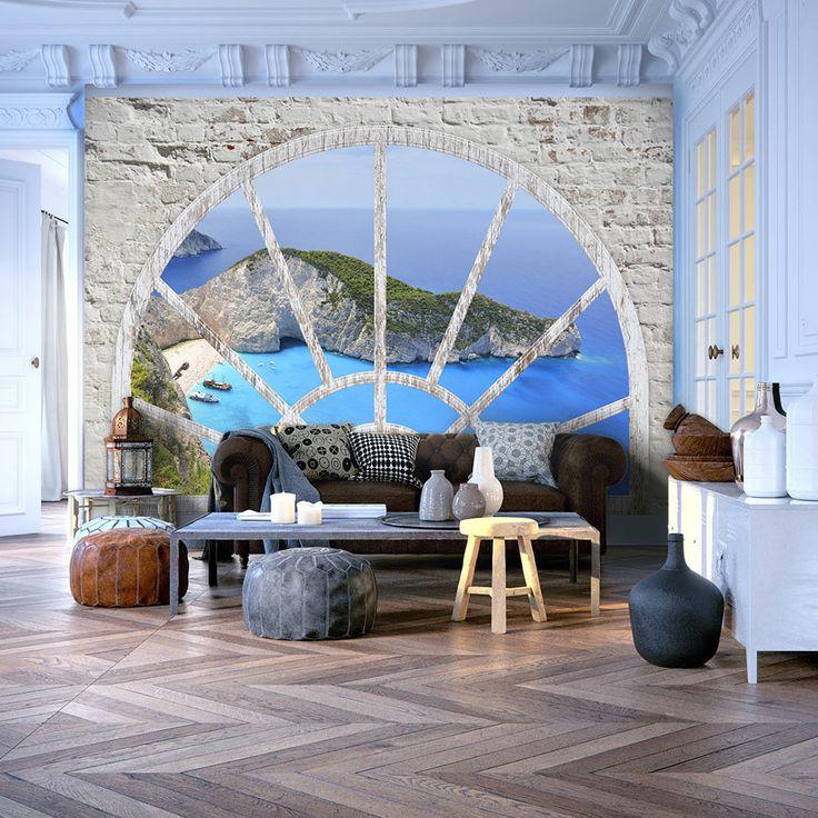 die besten 25 fototapete wohnzimmer ideen auf pinterest. Black Bedroom Furniture Sets. Home Design Ideas