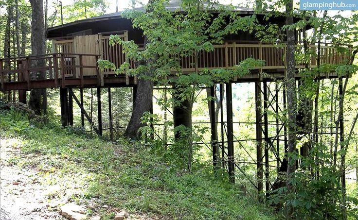 Amazing tree house rental near cumberland falls state park