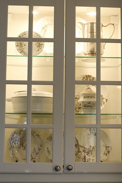 I need to light up the china cabinets that separate my living room and dining room