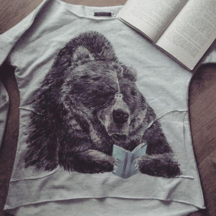Ręcznie malowana koszulka hand painted t-shirt