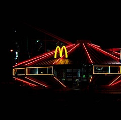 Don't like McD's but I will go to this one : UFO McDonald's~Roswell, NM