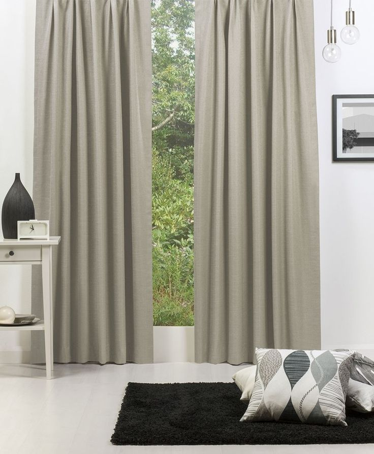 Broome (Blockout) Pencil Pleat Curtain - Nomad #Curtains