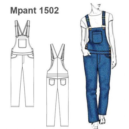 Patrones Pantalon Jardinera Mujer 1502 Em 2021 Desenho De Moda Roupas Da Moda Moda