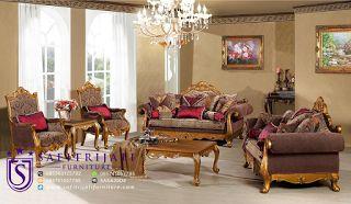 Safitrijati Furniture: Gaya Perabotan Kursi Tamu Mewah Model Istana Presi...