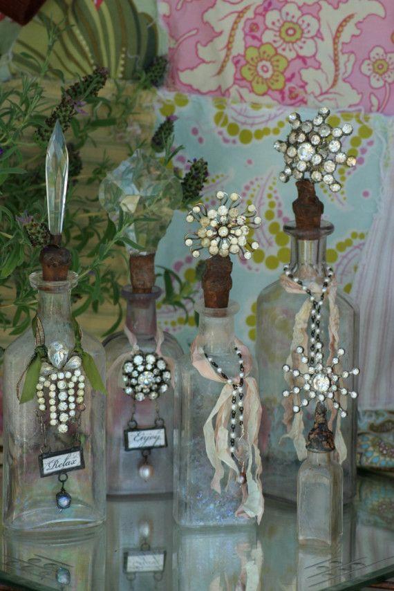 Jeweled Bottle