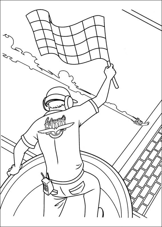 Turbo Coloring pages for kids. Printable. Online Coloring. 28