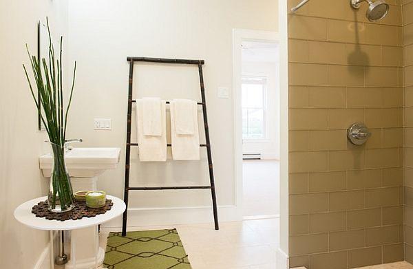 17 meilleures id es propos de chelles de bambou sur pinterest bambou ar - Echelle en bambou salle de bain ...