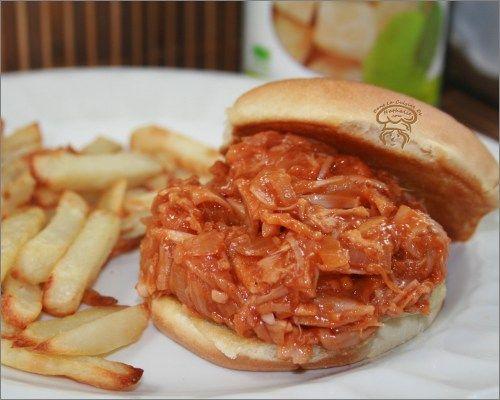 Sandwich Jackfruit BBQ