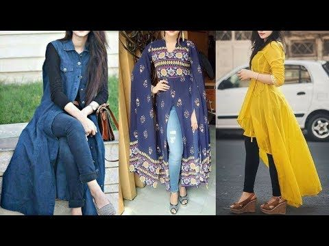 1162d5579b0 Latest Trendy kurti with jeans for 2018|| College Outfit || Latest Women  Fashion - YouTube