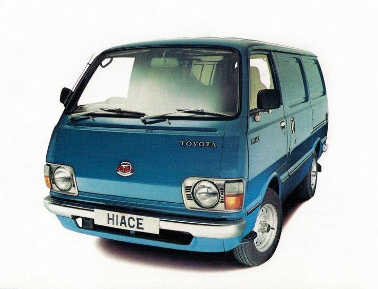 Toyota Hiace Van UK-spec '1977–83