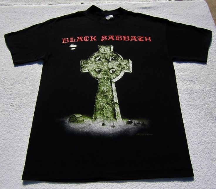 Headless Cross 1989 Tour. BLACK SABBATH.