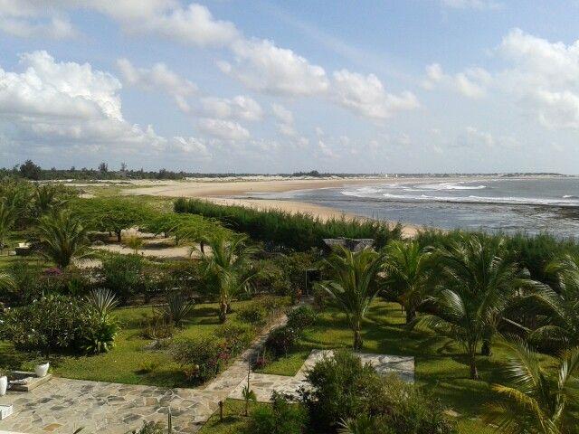 The Golden Beach of Mambrui. Malindi. Kenya