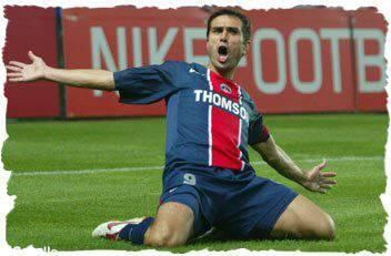 Pedro Miguel Pauleta. Maybe my favorite player. I have so many beautiful memories thanks to this player. I keep in mind his determination to win and his skill in front of the goal. I was so touched when he retired. What a great player !