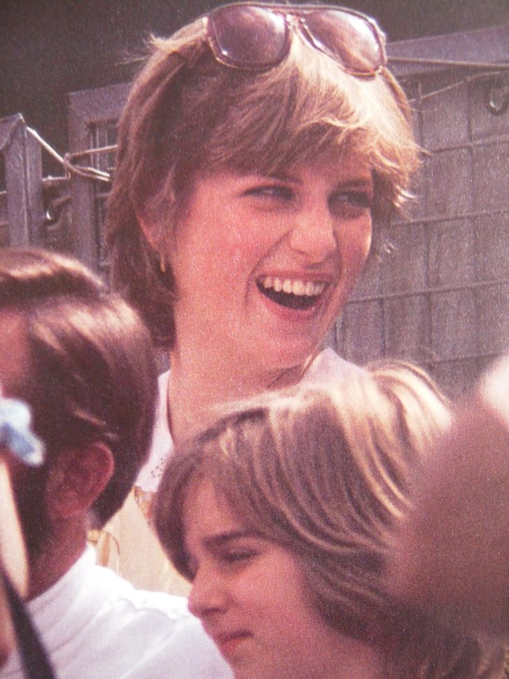 Lady Diana Spencer (later to be known as Princess Diana) watching a polo game with future sister-in-law Sarah Ferguson. Photo taken prior to her marriage to Prince Charles that took place on July 29, 1981.  This photo depicts the natural, pre-princess, non-shiny hair and down-to-earth attitude of Diana.