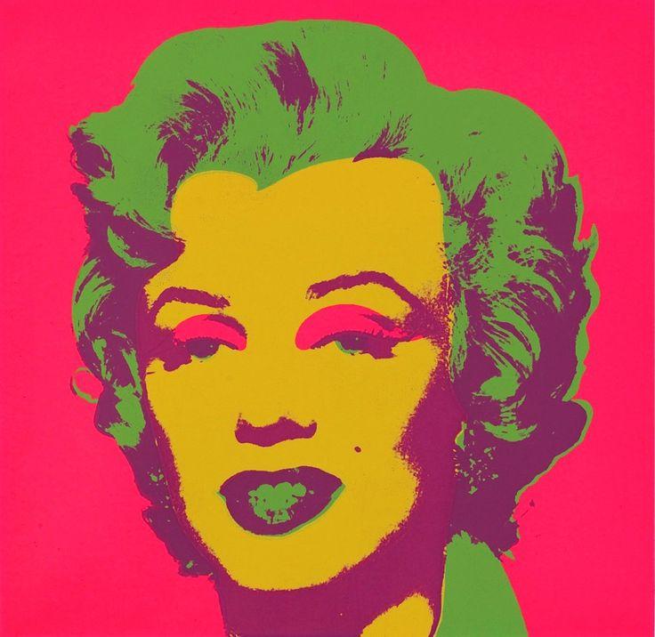 Préférence Les 15 meilleures images du tableau Andy Warhol Portrait - Marilyn  WY18