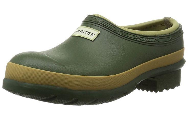Hunter Gardener Clog https://www.rodalesorganiclife.com/garden/best-gardening-boots-clogs-and-shoes/slide/4