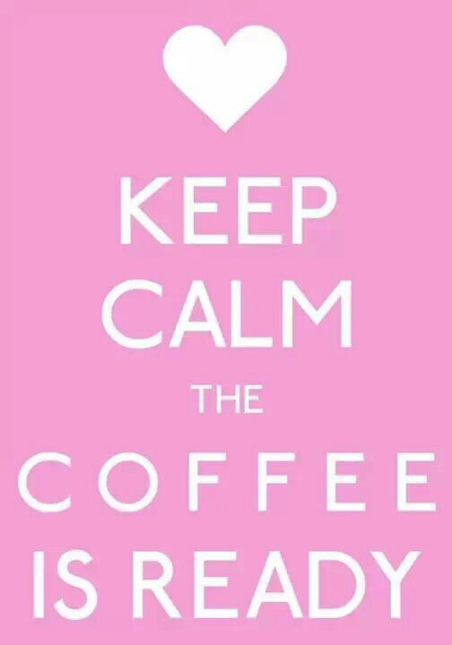 Oh yes! Time to drink a cup while getting ready to head to the 1st baby doctor appointment! Soooo excited
