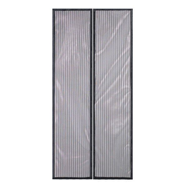 Mesh Screen Door Bug Guard Porch Snap Magnetic Shut Hands Free Open Patio  Furnit #Doesnotapply