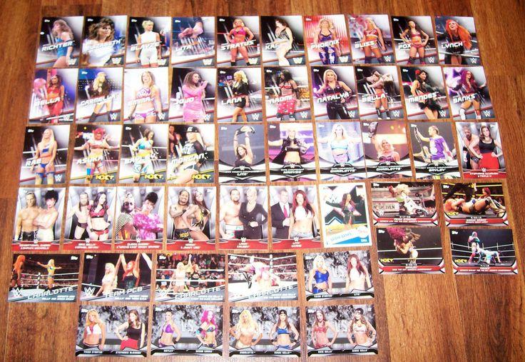 Lot of 50 Different 2016 Topps WWE Divas Revolution Cards SASHA LITA BAYLEY NXT - http://bestsellerlist.co.uk/lot-of-50-different-2016-topps-wwe-divas-revolution-cards-sasha-lita-bayley-nxt/