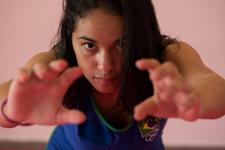 Promessa do Brasil, paraibana viaja para Sul-Americano de luta olímpica #globoesporte