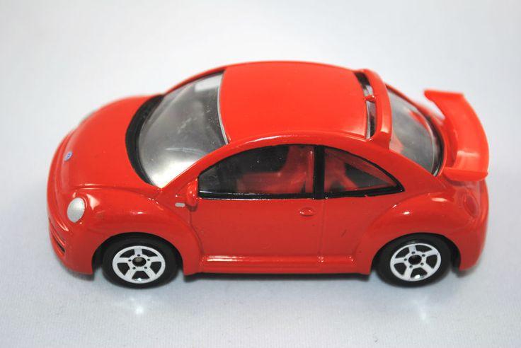 Detailed RealToy Special VW BEETLE RSi in Metallic Red / Orange Colour VGC #REALTOY