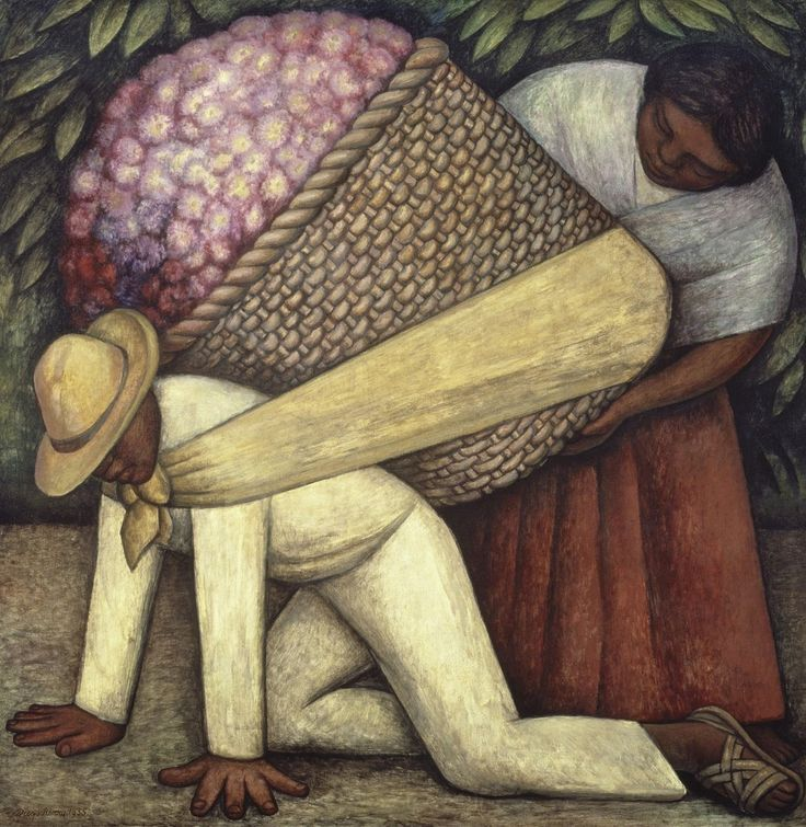 Diego Rivera, The Flower Carrier, 1935, San Francisco Museum of Modern Art (SFMOMA)