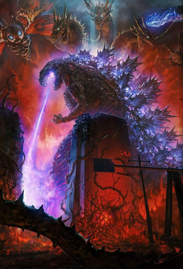 Shin Godzilla | Godzilla, Godzilla funny, Godzilla wallpaper