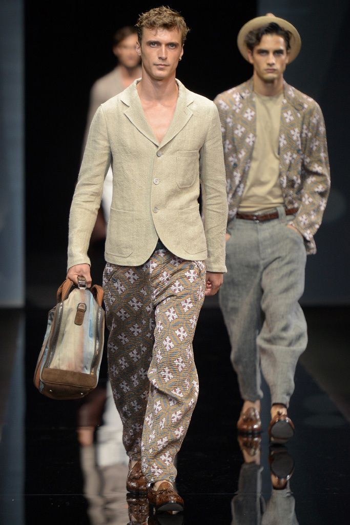 Giorgio Armani Men's Spring 2017 | WWD