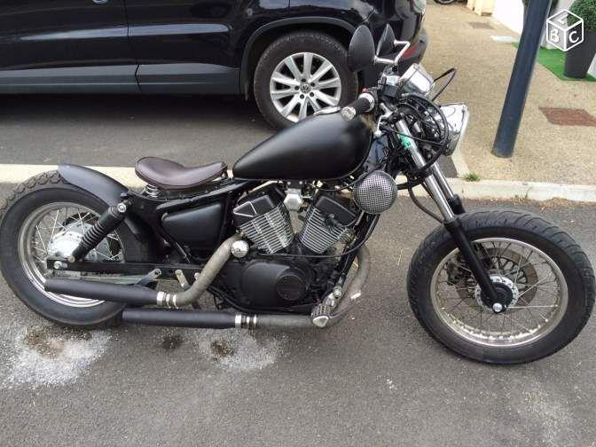 bobber 125 virago motos landes bobbers pinterest bobber motorcycle virago. Black Bedroom Furniture Sets. Home Design Ideas