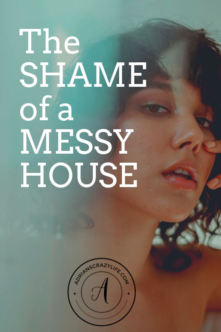 The Shame Of A Messy House Messy House Mom Advice Crazy Life