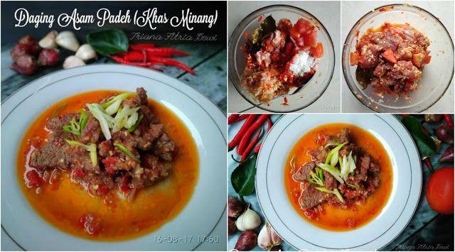Resep Daging Asam Padeh Khas Minang By Triana Fitria Ummu Silmi Resep Daging Makanan