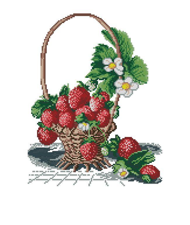 truskawki w koszu 1