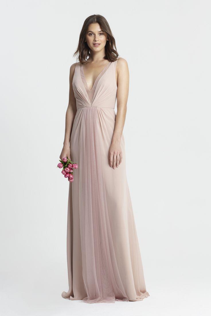 Monique Lhuillier Spring 2017 Bridesmaids - Style # 450381- Shell