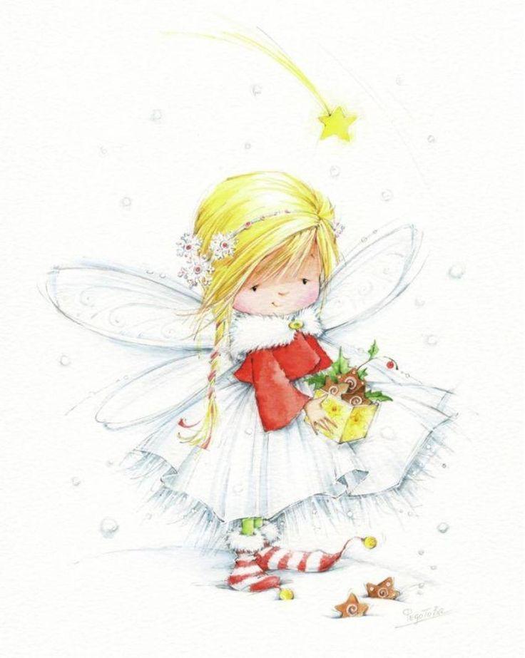 Мая, открытки для детей с феями
