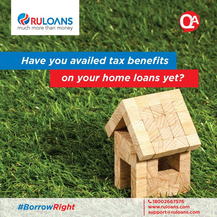 Do I get tax benefits on my loan? Yes, absolutely! You are eligible for tax benefits on the principal and interest components of your Home Loan under the Income Tax Act, 1961; thus minimising your #LoanKaDard