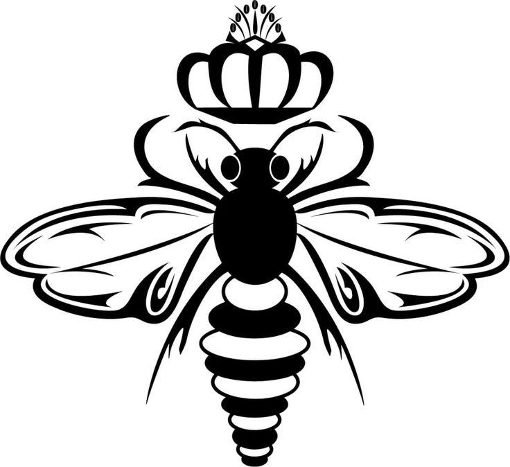 Картинки тату пчелка