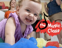 Our Music Pups program is from The Music Class, based out of Georgia.  We love their fun and engaging music for the little guys!