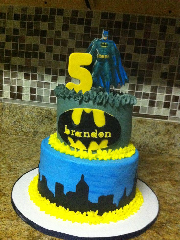Batman Icing Cake