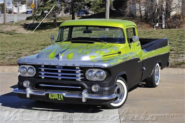 1958 dodge c 100 sweptside mopar for sale muscle cars collecto. Black Bedroom Furniture Sets. Home Design Ideas