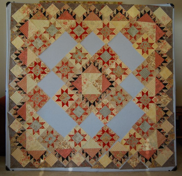 This weekend I can call a finish.  I have been working on this one over the weekends.  Last weekend I finished all the blocks and got most o...