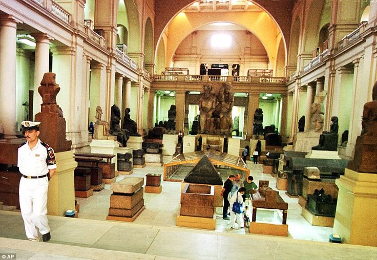 The world-famous Egyptian Museum boasts 160,000 priceless artefacts crammed into the hallways and exhibition halls of a 19th century two-storey building in Cairo's Tahrir Square.