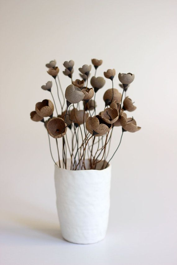 Flower, Dessert Garden Flower Arrangement, Flower arrangement, Ceramic Flowers, Ceramic flowers arrangement