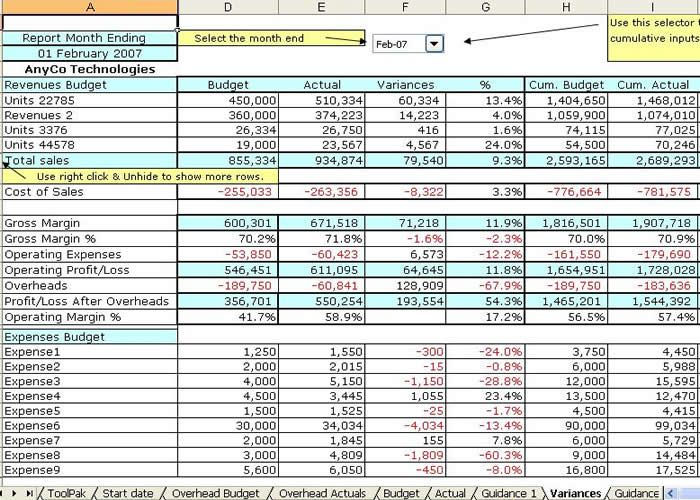 Small Business Accounting Spreadsheet Template Business