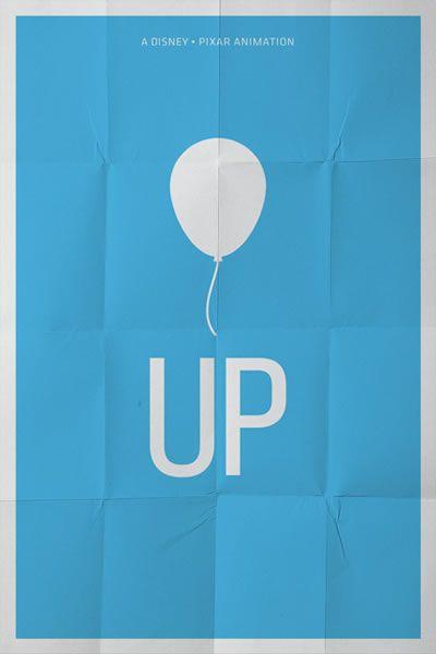 Up: Minimalist Poster