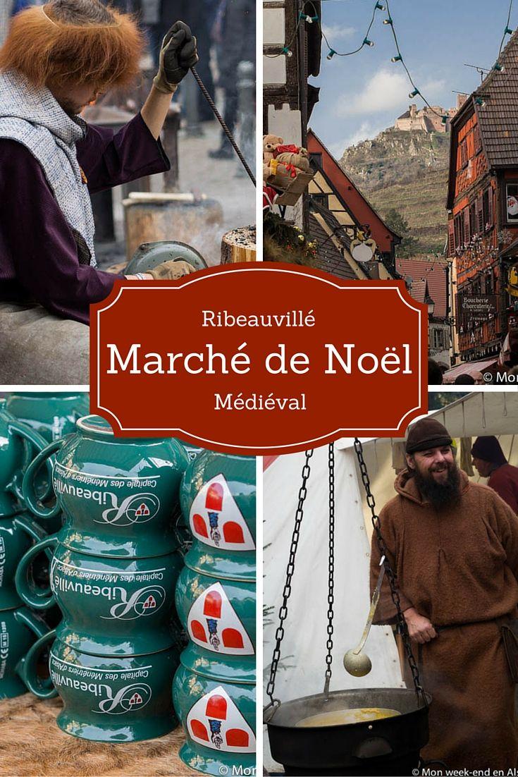 Marché de Noël médiéval de Ribeauvillé en Alsace