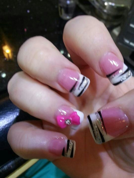 20 best Nails images on Pinterest | French nails, White ...