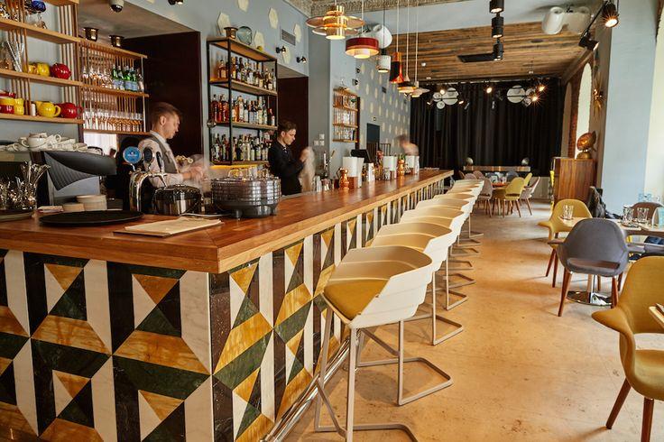 Гастробар «Ломбард» #lombard #gastrobar #interior #ginza #ginzaproject #bar